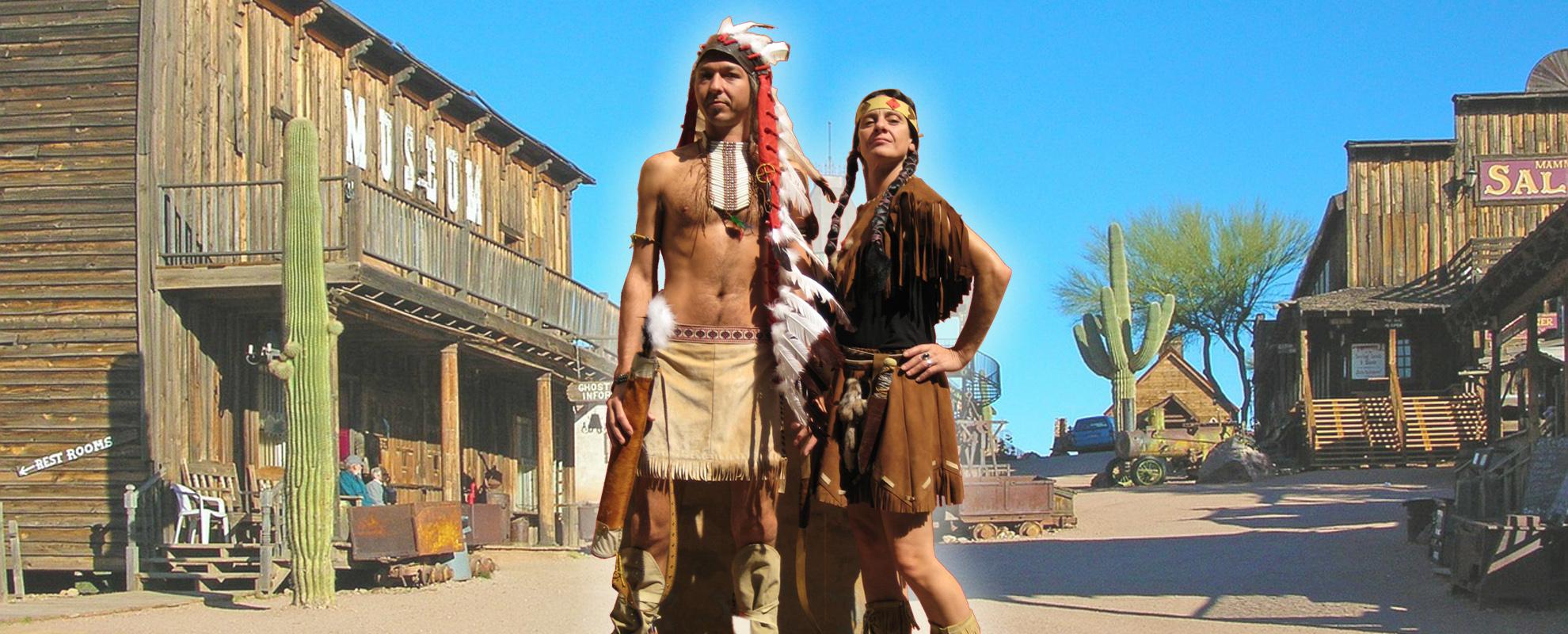 Wilder Westen Kostüm